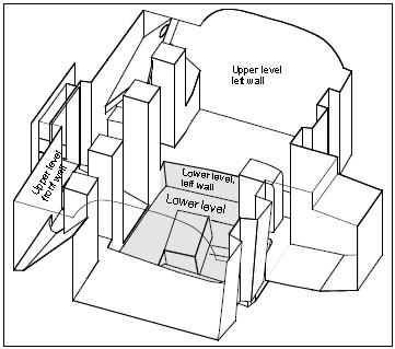 TMP diagram of a burial chamber