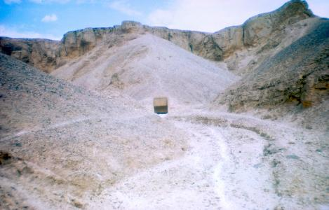 Approach to a tomb.