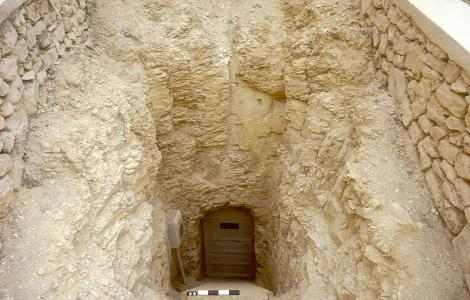 Tomb entrance of KV 12.